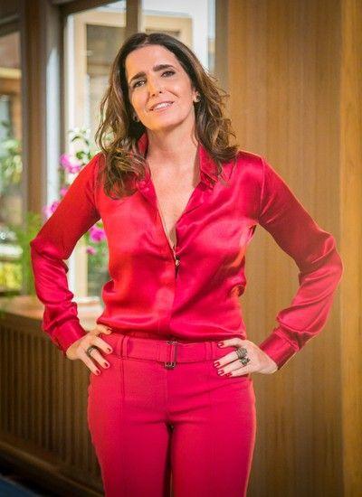 """""""Estava na hora de fazer uma comédia. É uma novela divertidas, leve, para cima"""", diz Malu Mader (Foto: TV Globo/ Paulo Belote)"""