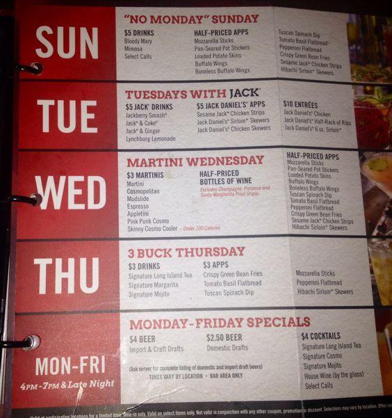Image result for TGI Friday menu Menus Pinterest Tgi fridays - beer menu
