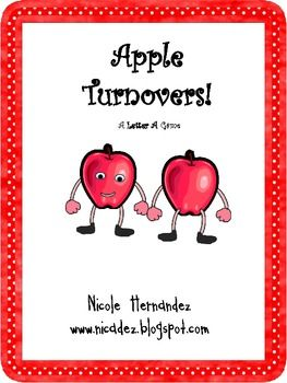 Activities and letter sound identification apple turnovers a le