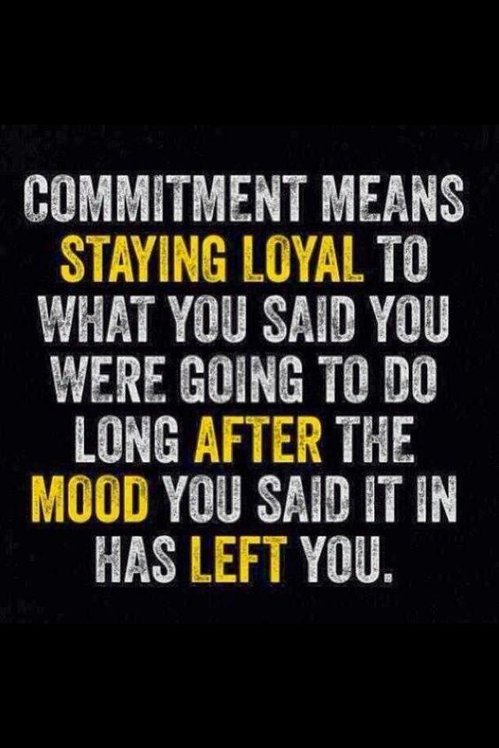 True Commitment