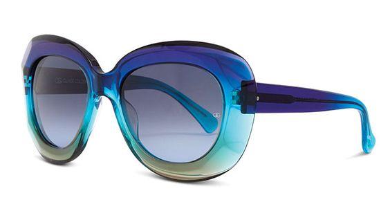 Optician Award Oliver Goldsmith Norum Blue Rainbow sunglass