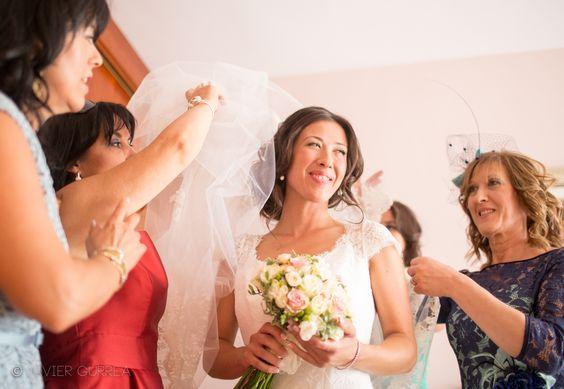 Fotógrafo de bodas. El velo