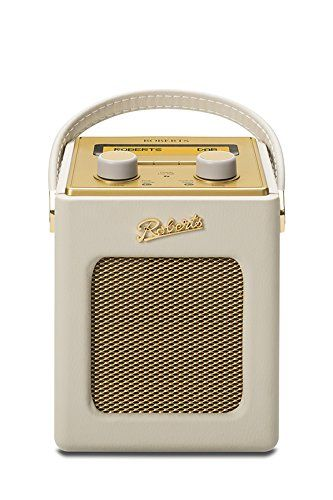 Roberts Revival Mini DAB DAB  FM Digital Radio   Pastel Cream. Roberts Revival Mini DAB DAB  FM Digital Radio   Pastel Cream