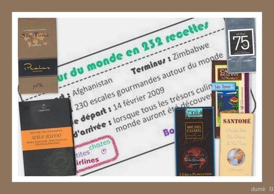 Tour du monde en 232 recettes : São Tomé e Príncipe : Escalope de Foie Gras Poêlée Cuvée « Louis Alexandre » et arôme « Sao Tomé  Cannellonis de Grué de Cacao au Chutney de Fruits Exotiques
