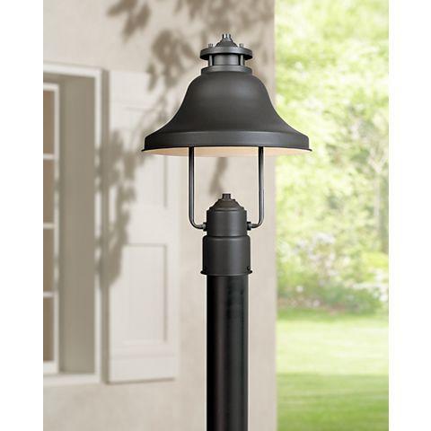 Bayport Collection Dark Sky 15 1 4 High Outdoor Post Light M5910 Lamps Plus Outdoor Post Lights Post Lights Outdoor Lamp Posts