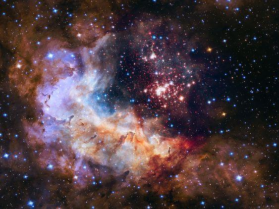 L'amas et la région de formation d'étoiles Westerlund 2