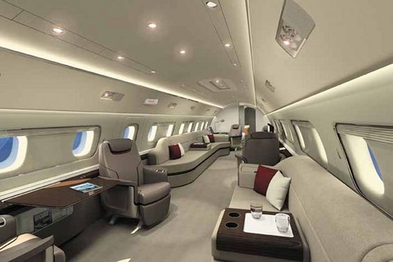 Embraer Lineage 1000 - LUXURY FLY #privatejet #luxury #travel #sky #luxe #jetprive #voyage #interior #design