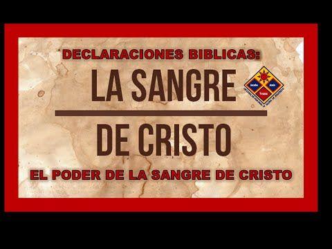 093 Declaraciones Biblicas Para Activar El Poder De La Sangre De