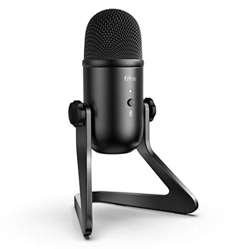 New Discounts On Off Sale Fifine Usb Podcast Microphone For Recording Streaming On Pc And Mac Condenser C In 2020 Microphone For Recording Usb Microphone Microphone