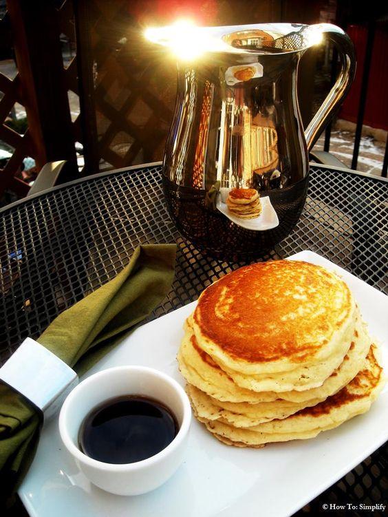 Homemade Pancakes mmmm....