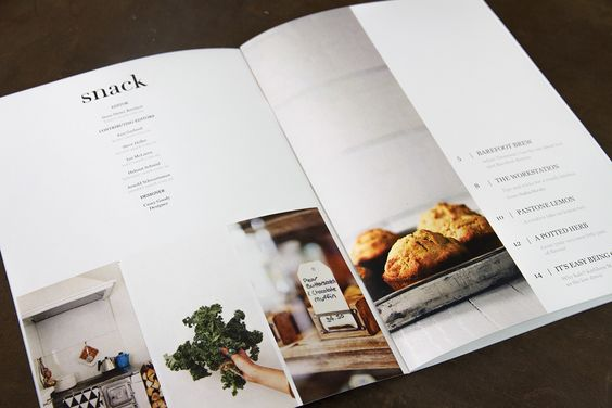 Snack Magazine on Behance