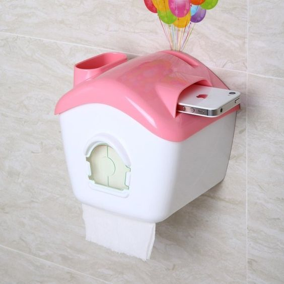 UP Balloons House Shaped Toilet Tissue Box. Available in pink, green and coffee. Measures 163 x 143 x 155mm. Please allow 3-4 weeks for delivery.