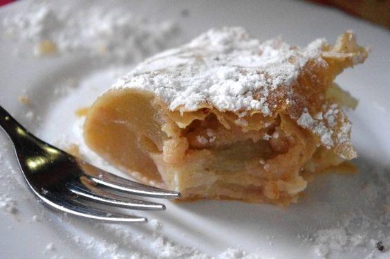 A Taste of Austria & Light Apple Strudel (Apfelstrudel)