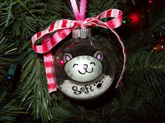 Soft kitty. The Big Bang Theory inspired Christmas ornament.
