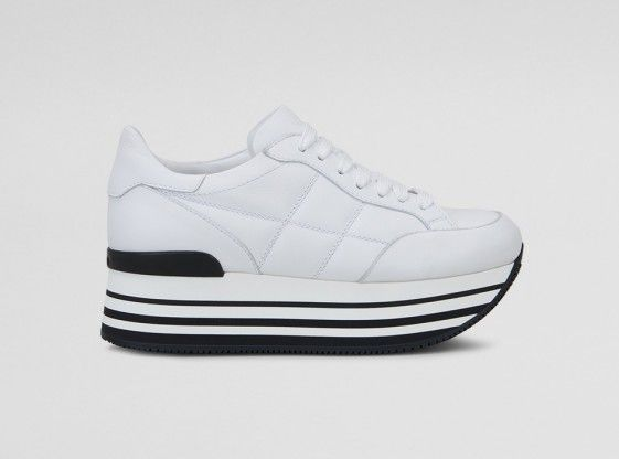 Shop Hogan Maxi H222 Sneakers White Women in Hogan outlet and ...