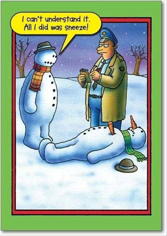 snowman humor: