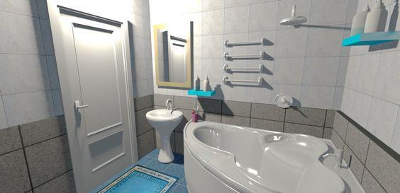 Ванная комната в доме. Дизайн. - Дом#1 - Ep.2 - Интерьеры от Unfiny - Ур...