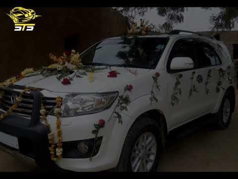 Sts Decoration Video Of Wedding Car Wedding Car Car Rent A Car