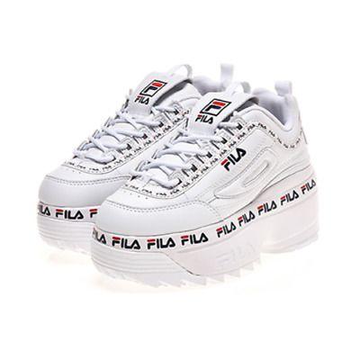 Details about FILA Women Disruptor II 2 Wedge Tapey Tape