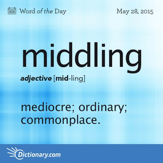 Middling