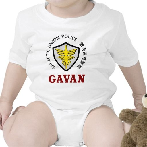 GUP Gavan the Space Sheriff Type 03 Baby Bodysuit. Kamen Rider Club and Space Cop Gavan the Galactic Union Police.