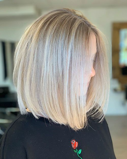 45 Famous Blonde Bob Hair Ideas In 2018 2019 Blonde Bob Hairstyles Bob Hairstyles Blonde Highlights Bob