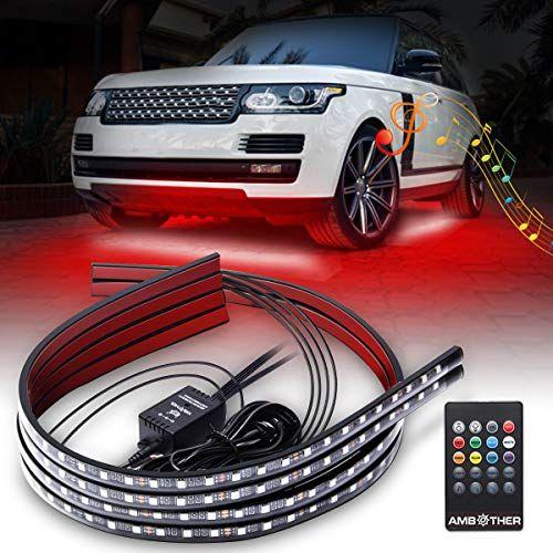 Ambother Car Neon Underglow Lights Waterproof Rgb Led Strip Light