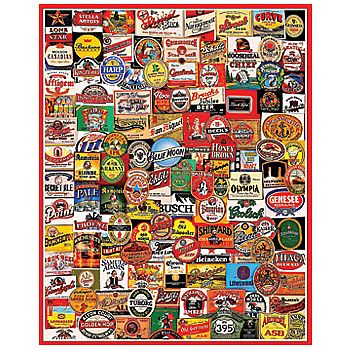 Beer Labels Jigsaw Puzzle 1000 Pieces Might Make You