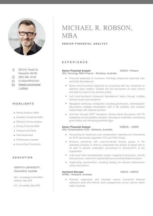 Showcase Make Your Resume Stand Out Resumeway Resume Design Resume Template Resume Design Free