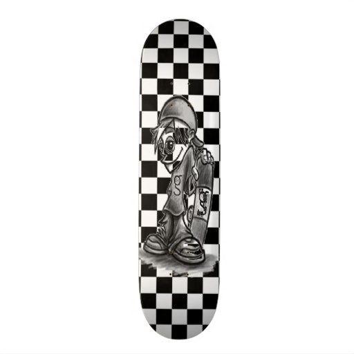 I M G Skater Boy Checkered Skateboard Zazzle Com In 2020 Skateboard Skater Boy Cool Skateboards