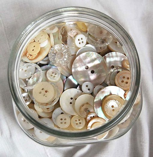 Buttons in glass