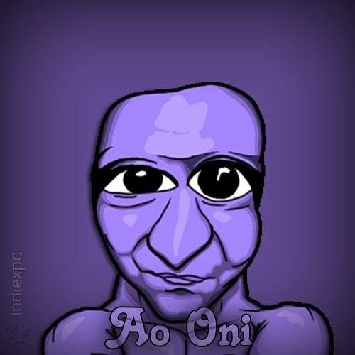 Ao Oni Is An Old Indiegame Made Using Rpgmaker It Was Very