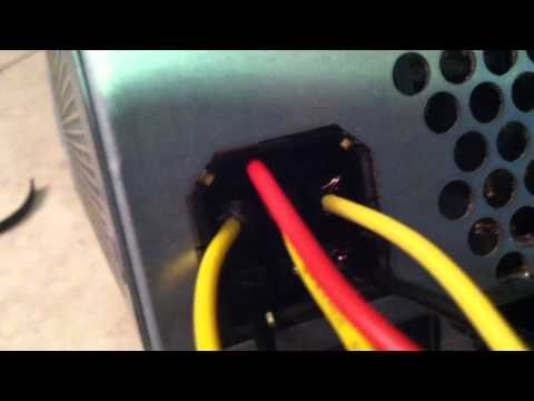 testing an xbox 360 with an atx power supply  youtube