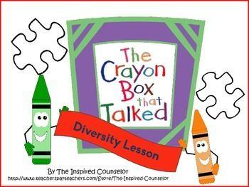 Ersity lesson plan the crayon box that talked