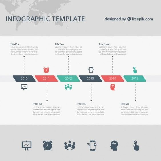 Infográfico Timeline Timeline, Infographics and Infographic - free roadmap templates