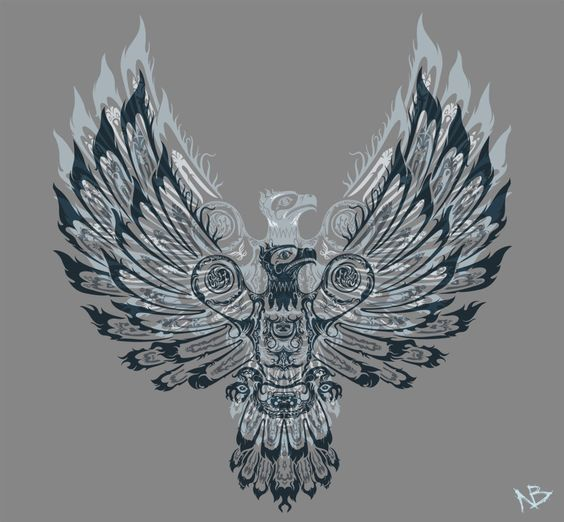 Phoenix bird, Mythology and Thunderbird animal on Pinterest - photo#19