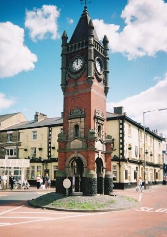 Redcar North Yorkshire..The Clock..