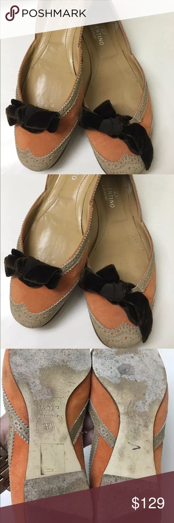 Valentino Garavani flat shoes size 37.5 Great quality shoes that has some gentle used,has superficial dirt that can be simply clean. Valentino Shoes Flats & Loafers