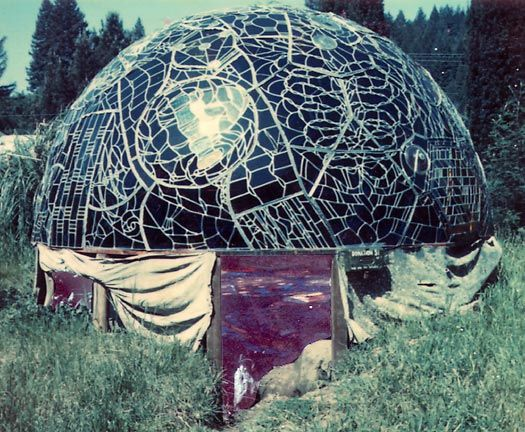 Wholeo Dome and Phyllis Birkby