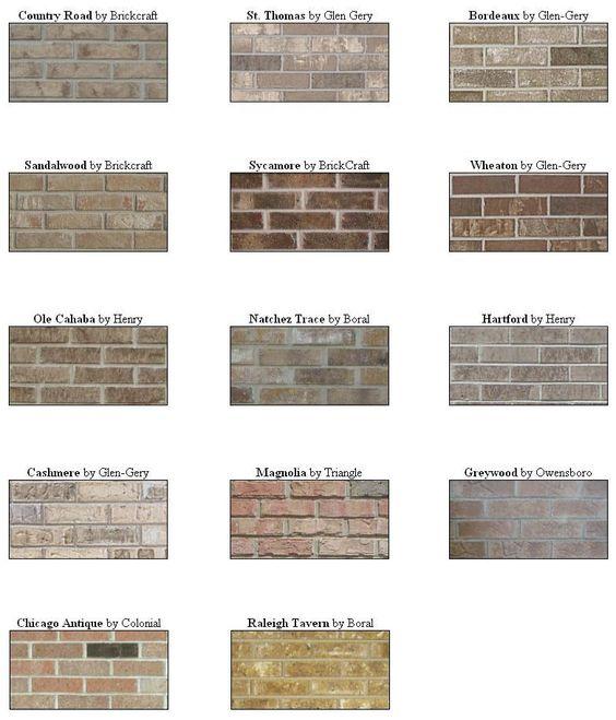 nice brick types Part - 4: nice brick types nice look