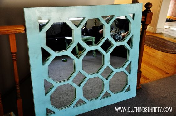 Mirror, mirror on the wall = Awesome DIY