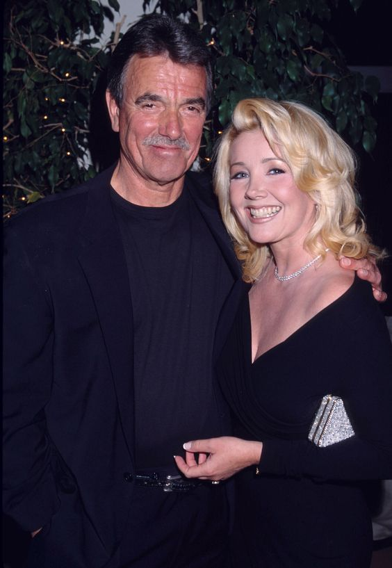 Eric Braeden and Melody Thomas Scott in 2002. #tbt #YR