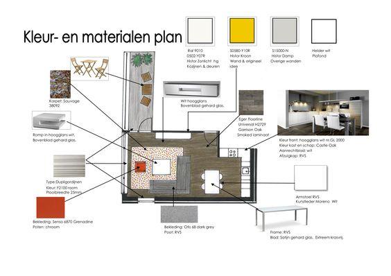 Kleuren en materialen ehcb opdracht opdrachten interieurstylist interieurdesigner pinterest - Kleur en materialen ...