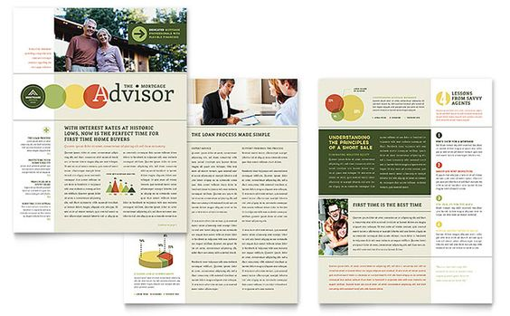 Click to download a full-size preview PDF converge Pinterest - newsletter templates free word