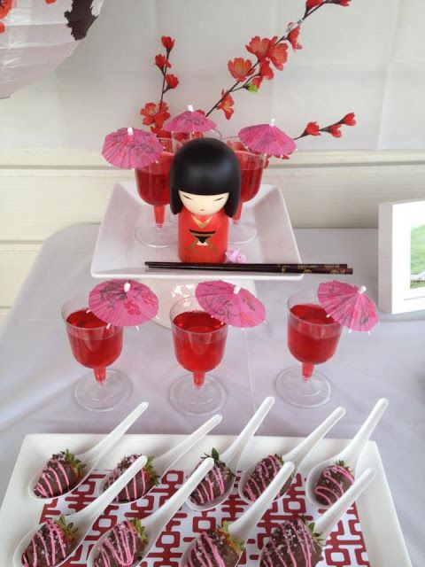 todi: {Customer Parties} Kokeshi Doll Japanese theme Birthday Party: