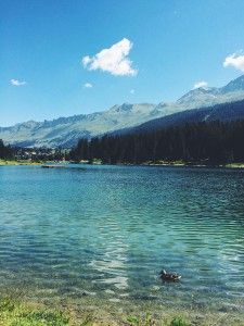 Heidsee at #Lenzerheide #Switzerland
