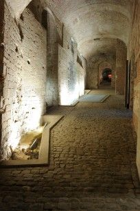 An underground trail to discover the remains of King Charles the Fifth's palace. A fascinating walk under Place royale to discover the remains of the Coudenberg Palace, one of the main residences of Charles V in the past. http://www.coudenberg.com. #Brussels #Bruxelles #Brussel.