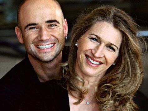 Andre Agassi and Steffi Graf, what a great couple!