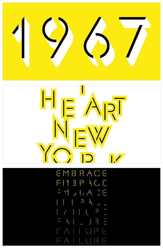 Glaser Stencil by Milton Glaser #font