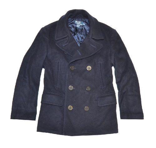 Polo by Ralph Lauren Men Wool Winter Pea Coat « Clothing